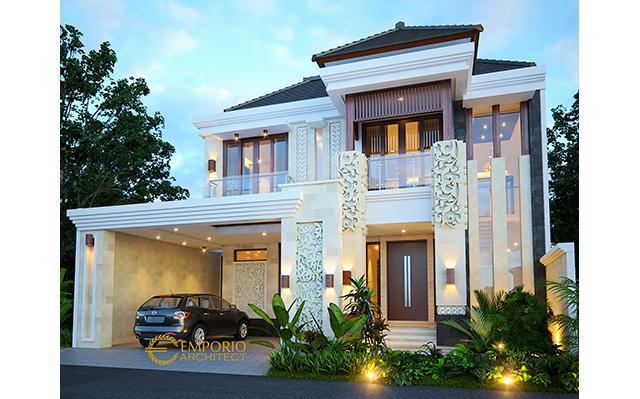 Desain Rumah Villa Bali 2.5 Lantai Bapak Hari Santoso di  Jakarta