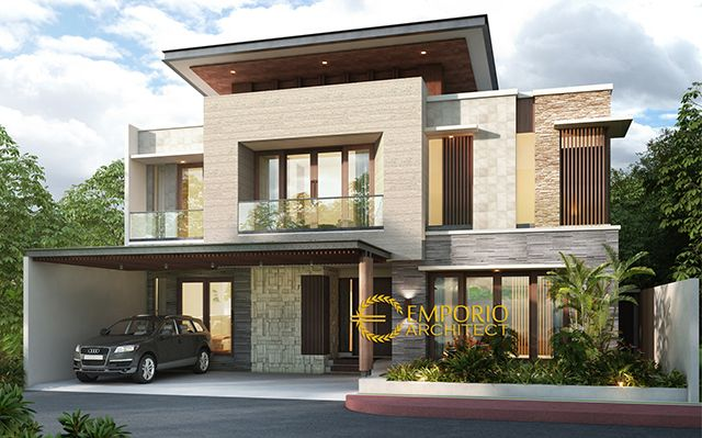 Mr. Herman Modern House 2 Floors Design - Jakarta