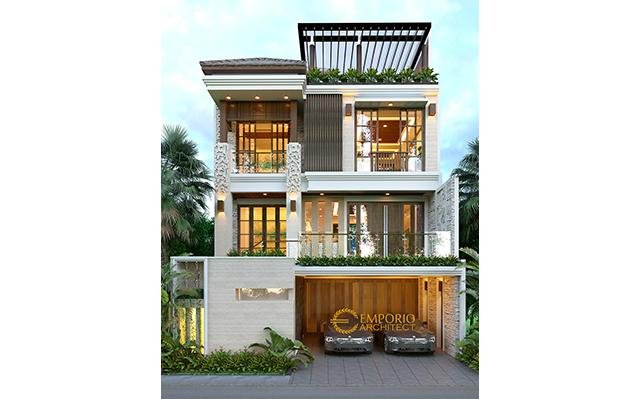 Mr. Rifki & Mrs. Rifki Villa Bali House 3 Floors Design - Jakarta