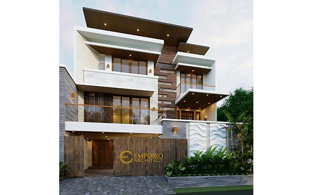 Mr. Iswandi Modern 3 Floors House Design - Bekasi