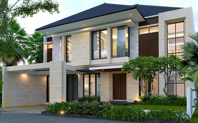 Mr. Josmar Modern House 2 Floors Design - Jakarta