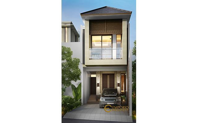 Mr. Jumadi Modern House 2 Floors Design - Jakarta