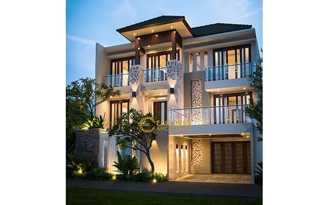 Desain Rumah Villa Bali 3 Lantai Bapak Leo di  Bintaro, Tangerang