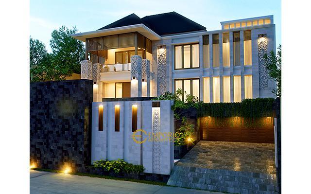 Desain Rumah Villa Bali 2 Lantai Bapak Martinus di  Jakarta