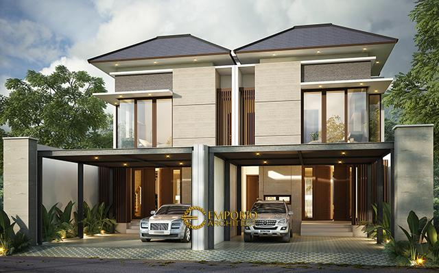 Mr. Mirza Modern House 2 Floors Design - Jakarta