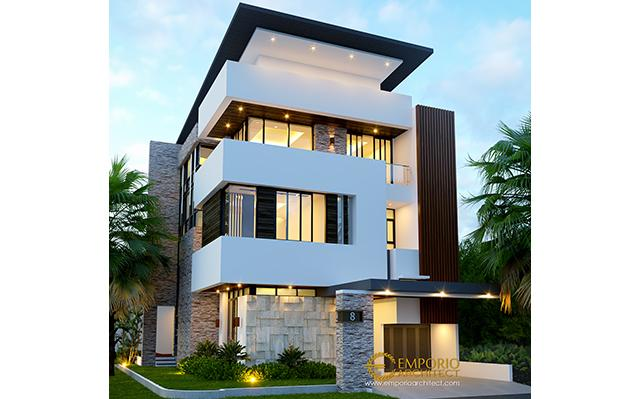 Mr. Muhammad Modern House 3 Floors Design - Jakarta