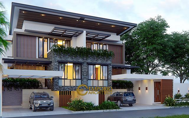 Mr. Pramana Modern House 3 Floors Design - Jakarta