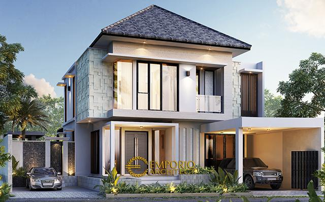 Mr. Ricardo Modern House 2 Floors Design - Jakarta