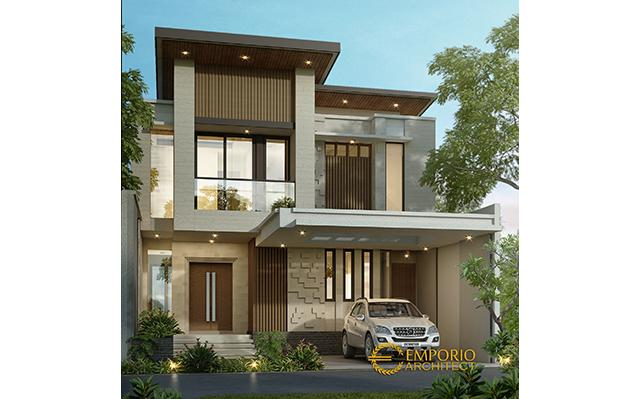 Mr. Ricky Modern House 2 Floors Design - Bekasi