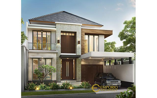 Mr. Sadeko Modern House 2 Floors Design - Jakarta