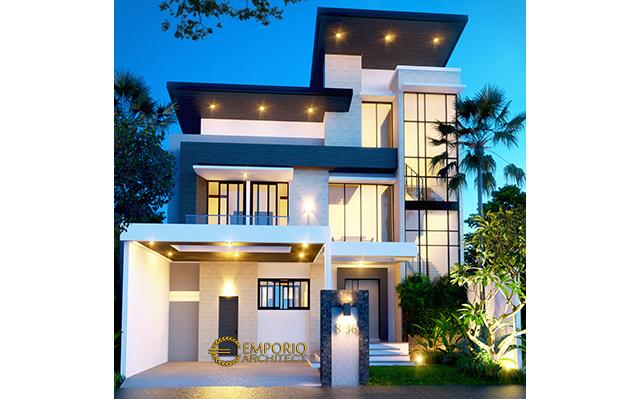 Mr. Terry Modern House 3 Floors Design - Jakarta