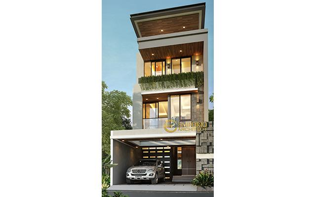 Mr. Yonatan Modern House 3 Floors Design - Jakarta