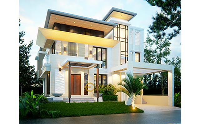 Mrs. Dina Modern House 2 Floors Design - BSD, Tangerang