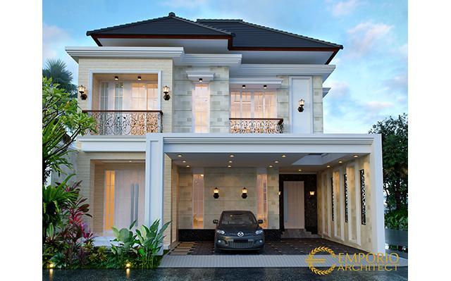 Mrs. Elsyah Modern House 2 Floors Design - Jakarta