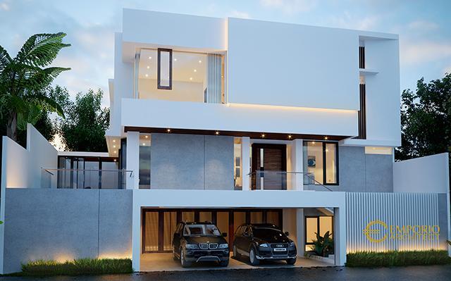 Mrs. Helen Modern House 3 Floors Design - Jakarta