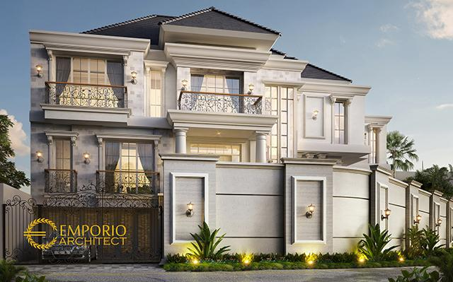 Mrs. Jennifer Classic House 3 Floors Design - Jakarta