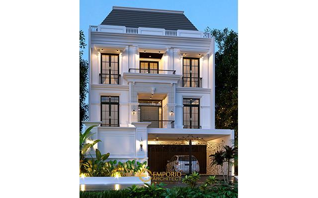 Mrs. Juli Classic House 3 Floors Design - Jakarta