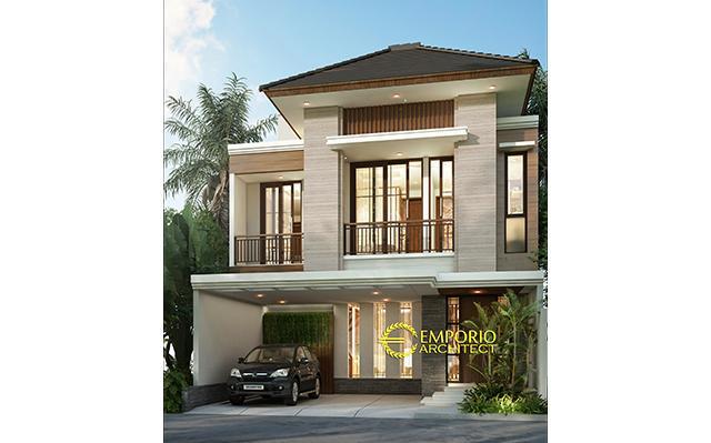 Mrs. Poppy Modern House 2 Floors Design - Jakarta Selatan