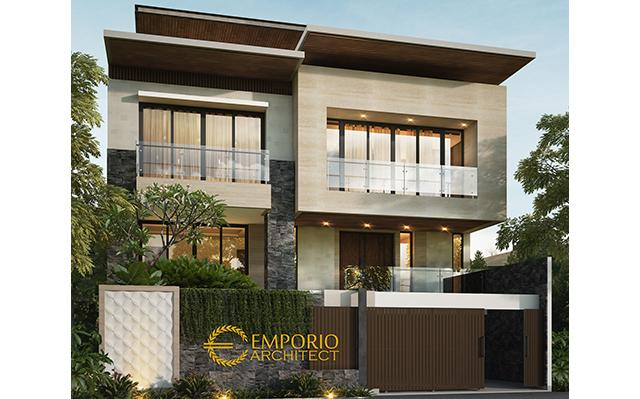 Mrs. Shirlina Modern House 2 Floors Design - Jakarta