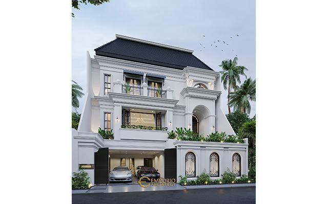 Mrs. Widyana Mediteran House 3 Floors Design - Jakarta