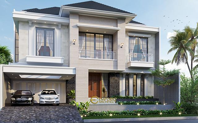 Mr. John Modern House 3 Floors Design - Jakarta