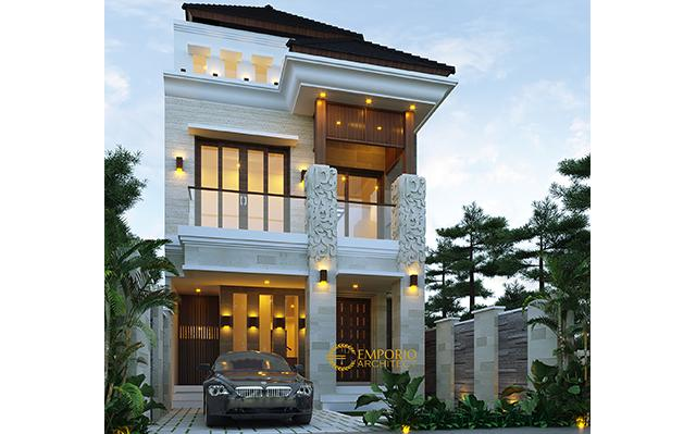 Mr. Naufal Villa Bali House 3 Floors Design - Jakarta