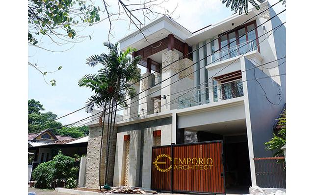 Construction Result of Mr. Nursantyo Private House - Jakarta