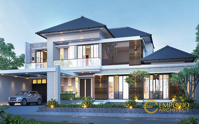 Mr. Indra Modern House 2 Floors Design - Jakarta Selatan