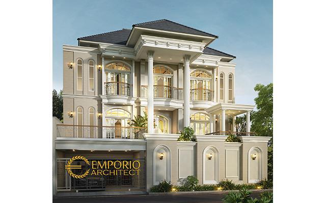 Mrs. Michelle Classic House 3 Floors Design - Jakarta Timur
