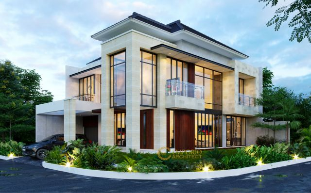 Mrs. Melly Modern House 2 Floors Design - Jakarta Timur