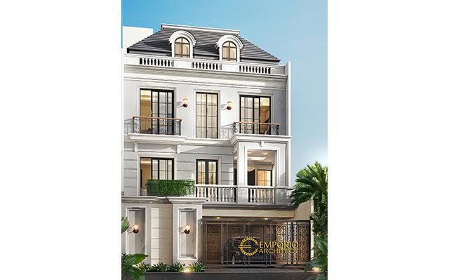 Mr. Bernard Classic House 4 Floors Design - Jakarta Utara