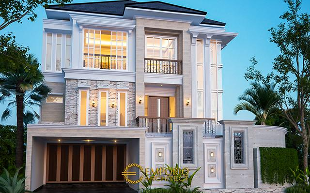 Mr. Mulya Classic House 3 Floors Design - Jakarta Utara