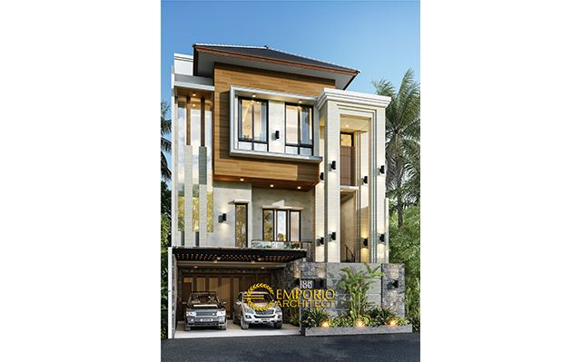 Mr. Toni Tchin Modern House 4 Floors Design - Jakarta Utara