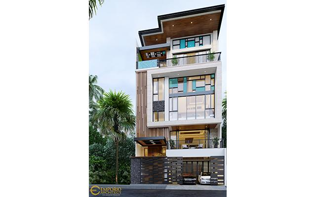 Mr. Wempie Modern House 3 Floors Design - Jakarta Utara