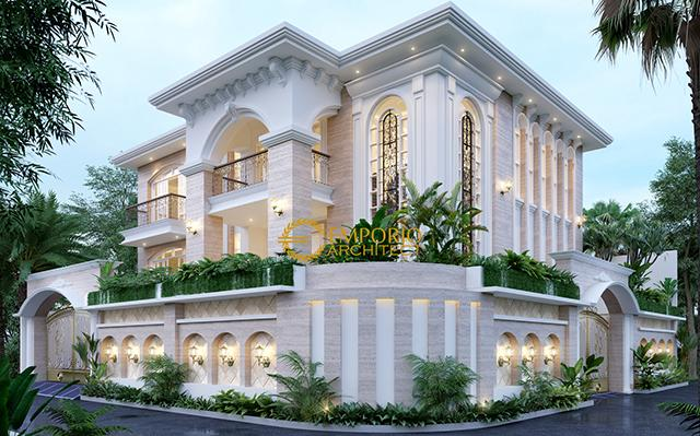 Mr. WIlliam Mediteran House 2 Floors Design - Jakarta Utara