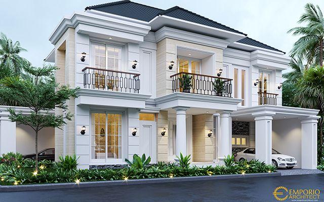 Mrs. Menik Classic House 2 Floors Design - Jatibening, Bekasi