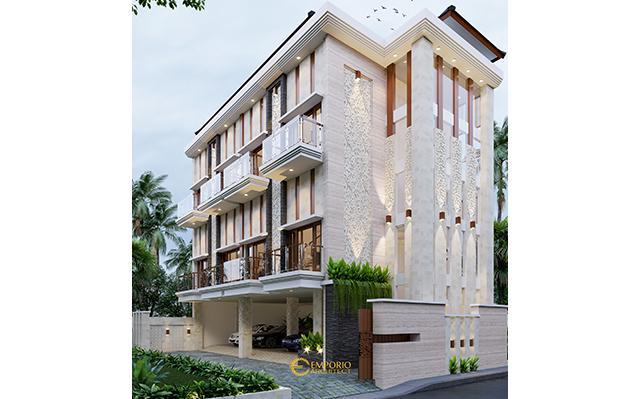 Desain Kost Villa Bali 3 Lantai Bapak Tedy di  Jimbaran, Badung, Bali