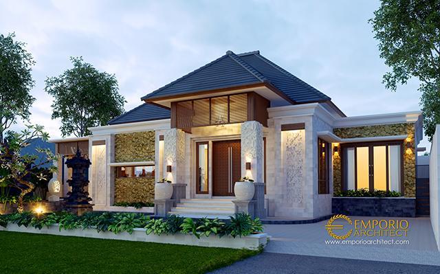 Desain Rumah Villa Bali 1 Lantai Bapak Made di  Jimbaran, Badung, Bali