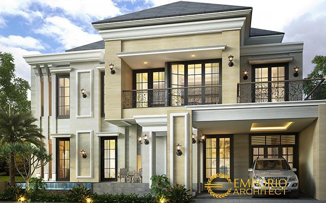 Mr. Fadhil Classic House 2 Floors Design - Karawang, Jawa Barat