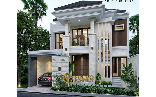 Desain Rumah Villa Bali 2 Lantai Bapak Norman di  Karawang, Jawa Barat