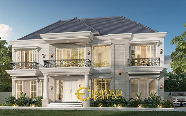 Mr. Feris Classic House 2 Floors Design - Kepulauan Bangka Belitung