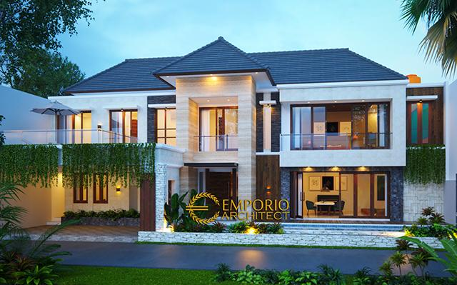 Desain Kompleks Villa Modern 2 Lantai Ibu Lenny (Seminyak East Development) di  Kerobokan, Badung, Bali