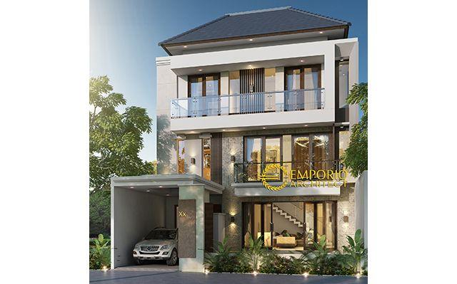 Mr. Sylvain & Mr. Daine Modern House 3 Floors Design - Kerobokan, Badung, Bali