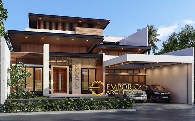 Desain Rumah Modern 2 Lantai Bapak Irvan di  Kuningan, Jawa Barat