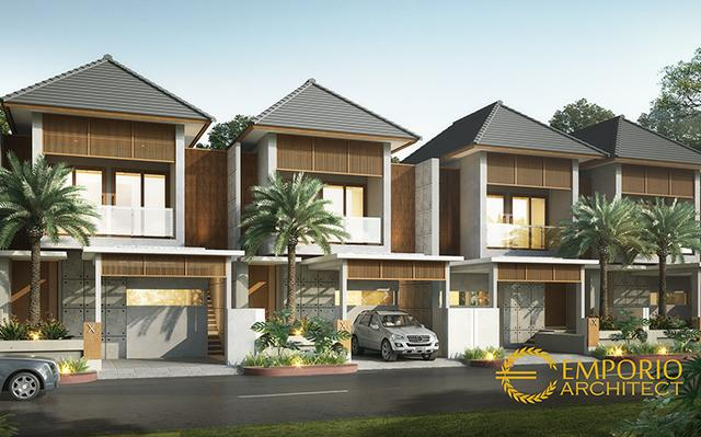Desain Perumahan Modern 2 Lantai Pertamina di   Kutai Kartanegara, Kalimantan Timur