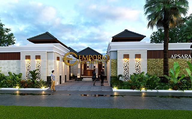 Desain Apsara Villa Style Villa Bali 1 Lantai di  Badung, Bali