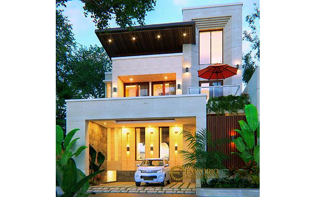 Mrs. Wita Modern House 3 Floors Design - Malang
