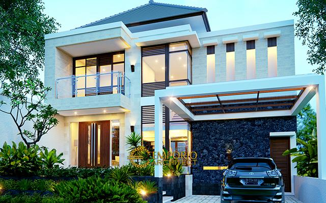 Mr. Ivan Modern House 2 Floors Design - Manado