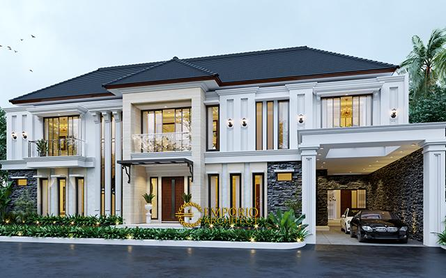 Mr. Toni Classic House 2 Floors Design - Manado