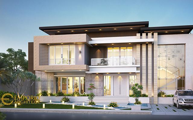 Desain Rumah Modern 2 Lantai Bapak Dicky Goni di  Maumere, Nusa Tenggara Timur